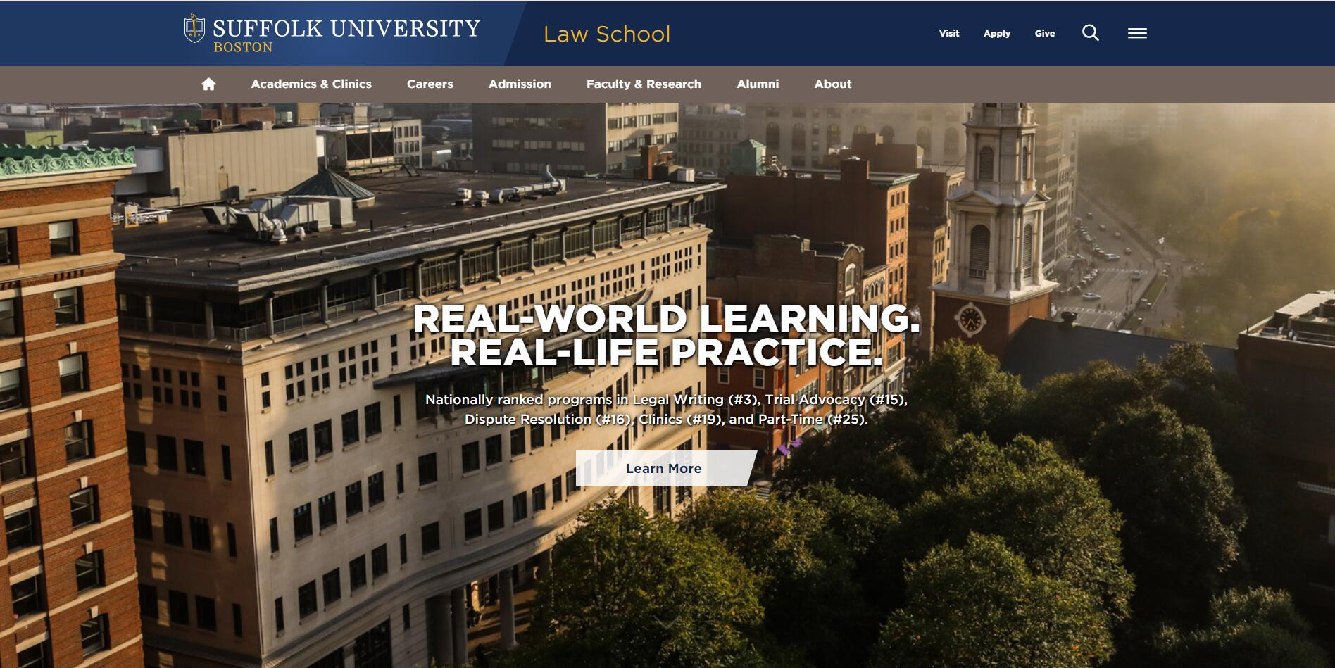 The School of Law at Suffolk University