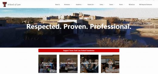 The School of Law at Texas Tech University