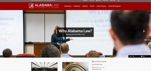 The School of Law at University of Alabama