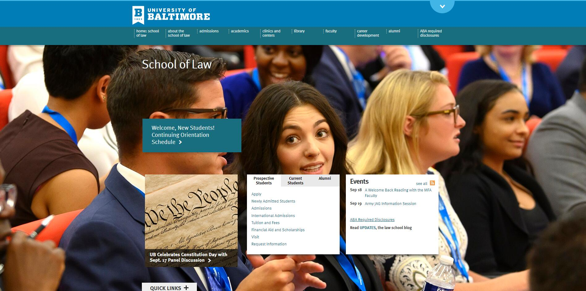 The School of Law at University of Baltimore