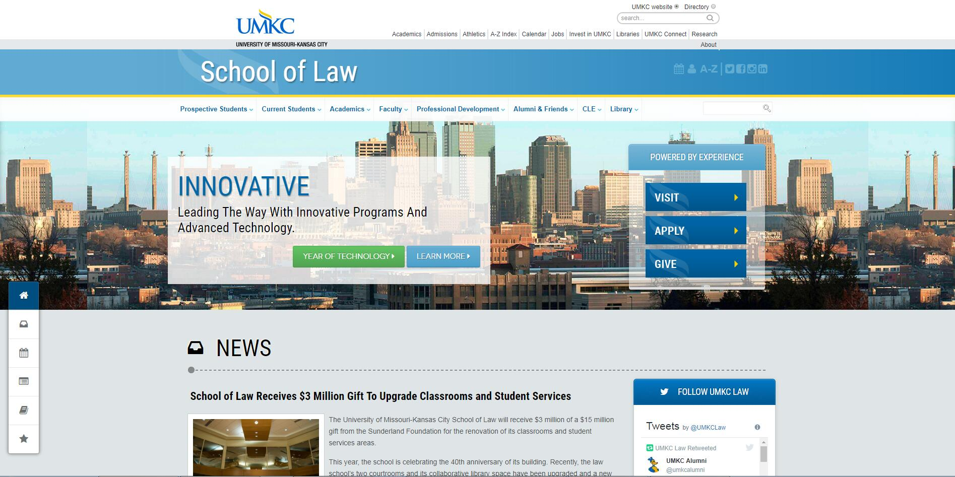 The School of Law at University of Missouri--Kansas City