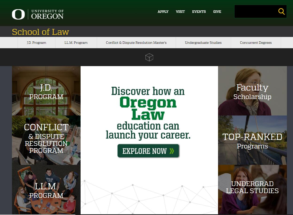 The School of Law at University of Oregon