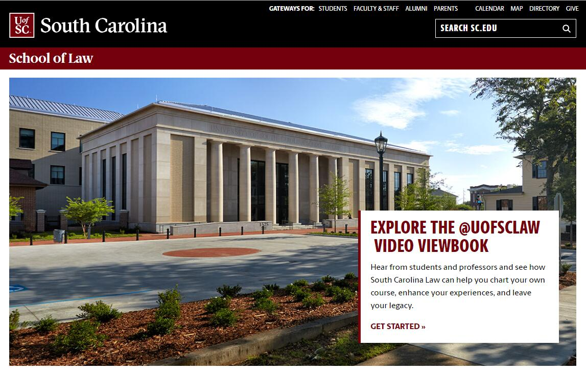 The School of Law at University of South Carolina