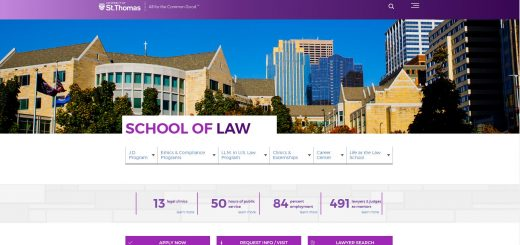 The School of Law at University of St. Thomas