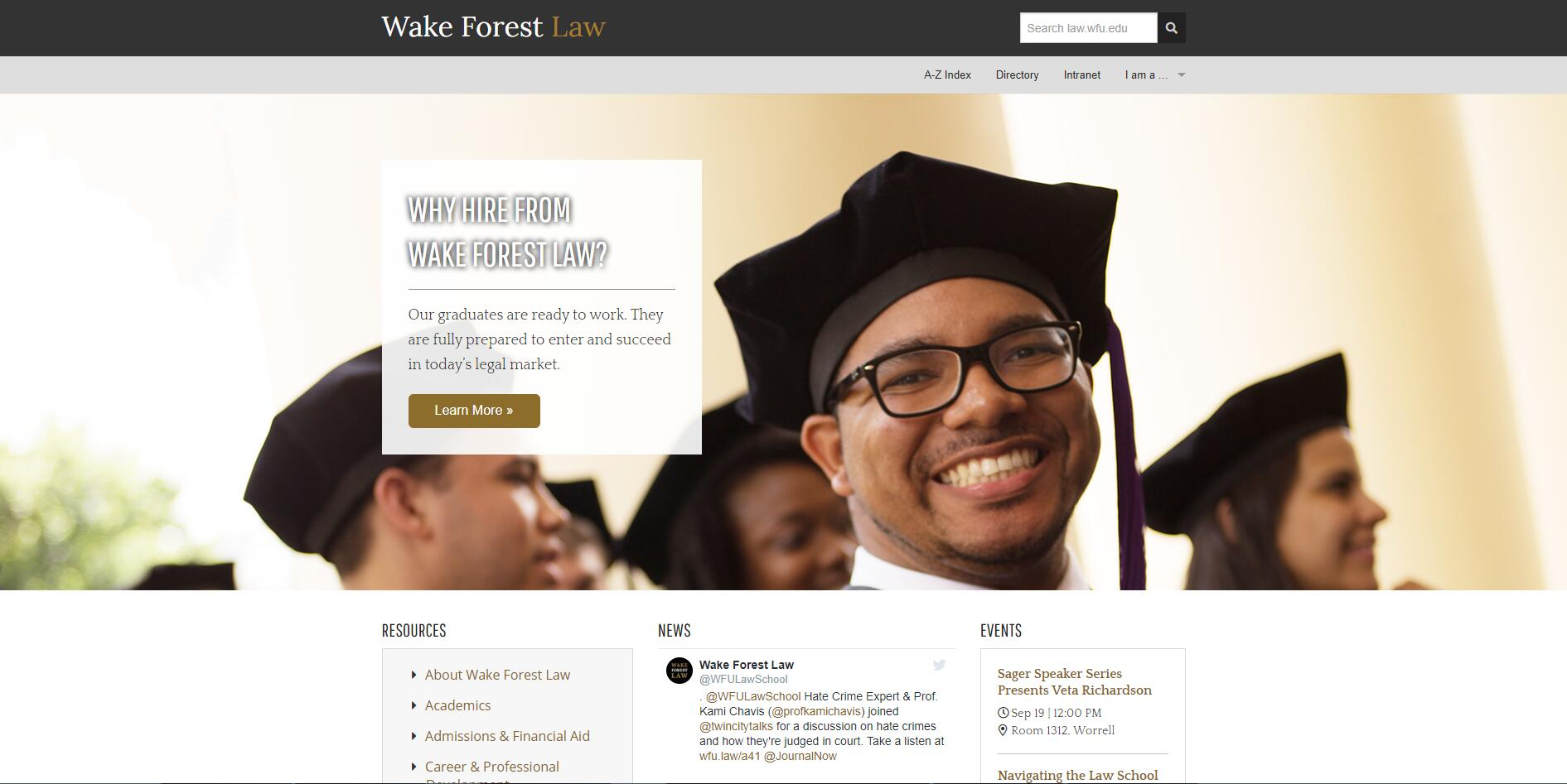 The School of Law at Wake Forest University