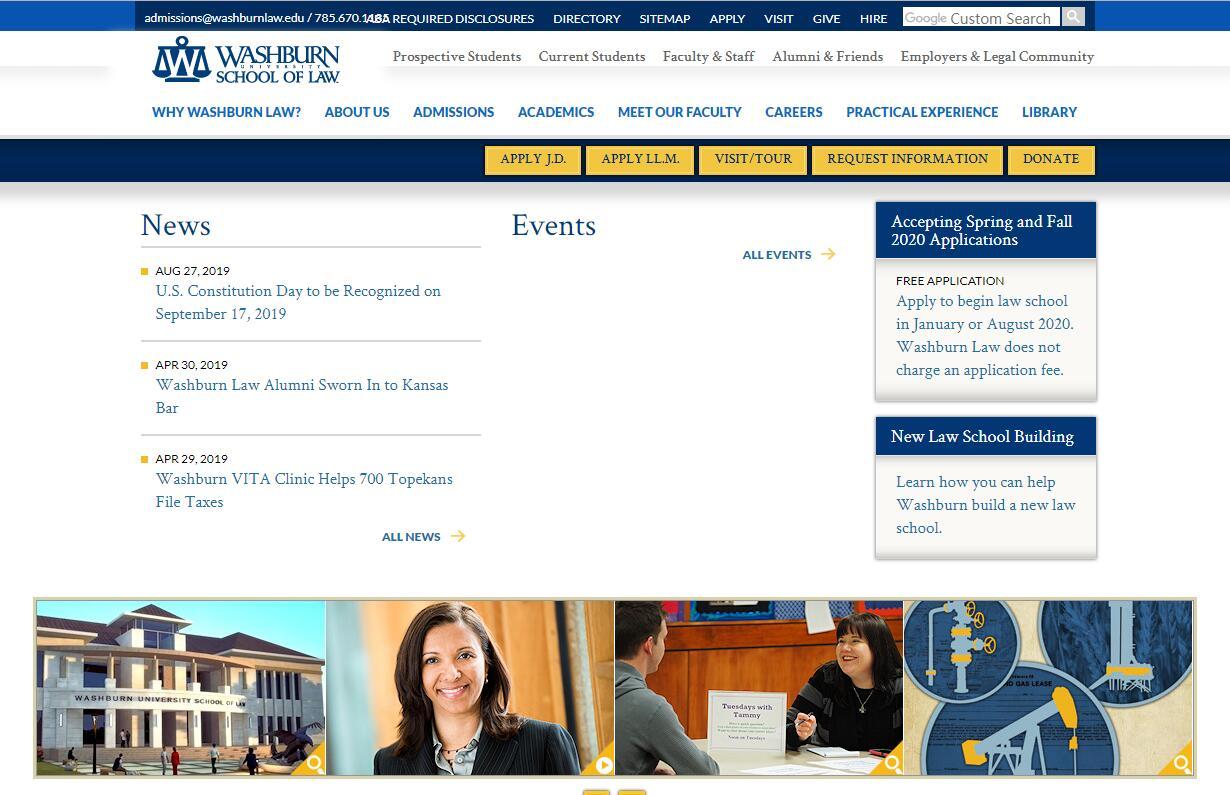 The School of Law at Washburn University
