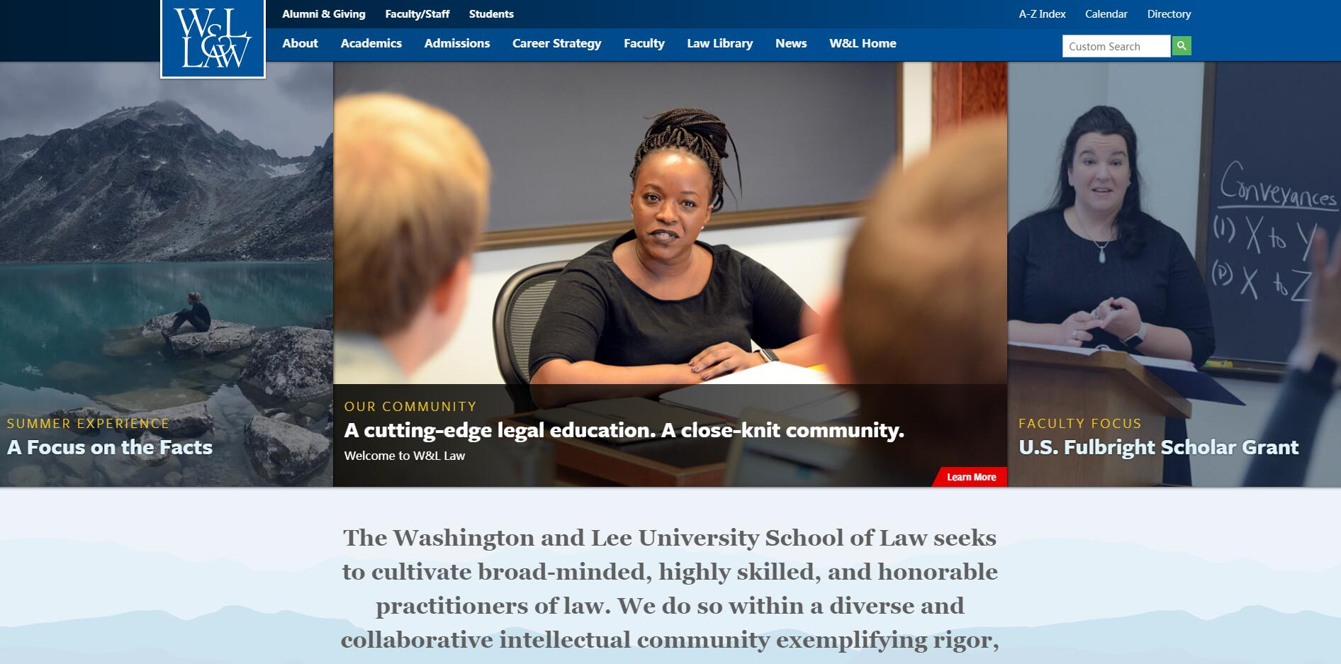 The School of Law at Washington and Lee University