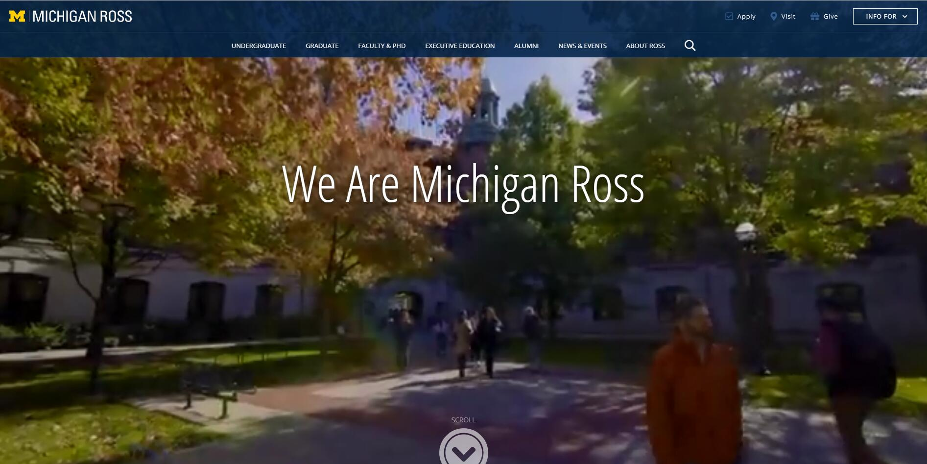 The Stephen M. Ross School of Business at University of Michigan–Ann Arbor