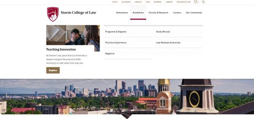 The Sturm College of Law at University of Denver