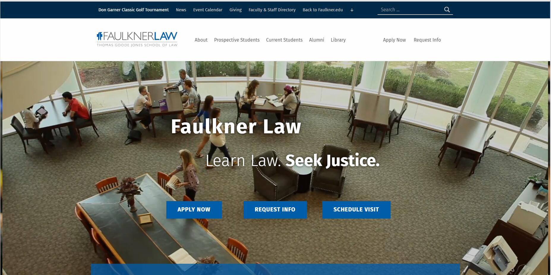 The Thomas Goode Jones School of Law at Faulkner University