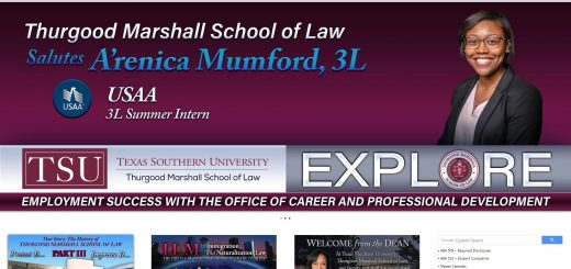 The Thurgood Marshall School of Law at Texas Southern University