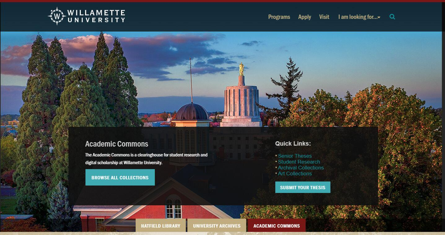 The Truman Wesley Collins Legal Center at Willamette University