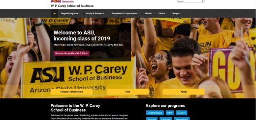 The W. P. Carey School of Business at Arizona State University