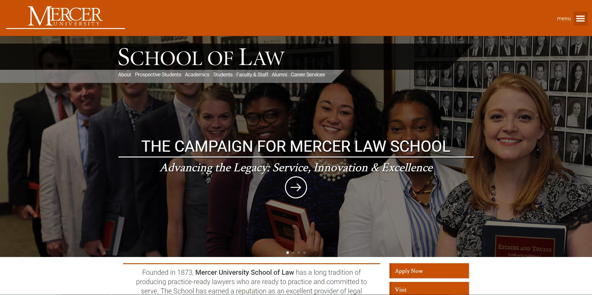 The Walter F. George School of Law at Mercer University