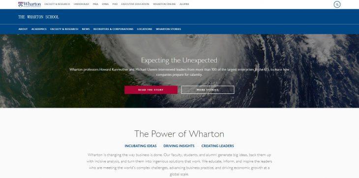 The Wharton School at University of Pennsylvania