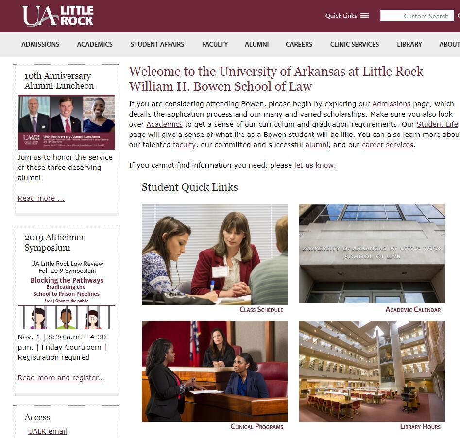 The William H. Bowen School of Law at University of Arkansas--Little Rock