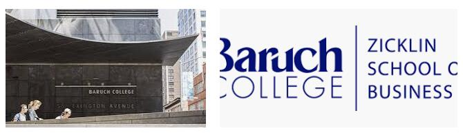 The Zicklin School of Business at CUNY--Baruch College