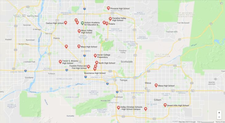Top High Schools in Arizona 2019