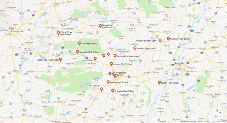 Top High Schools in Arkansas 2019
