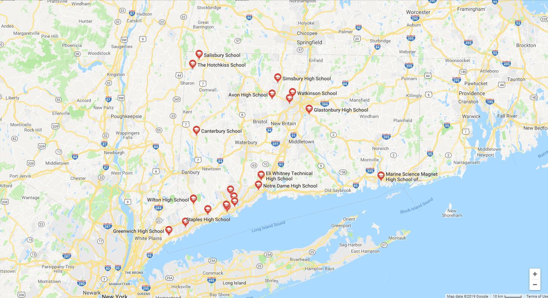 Top High Schools in Connecticut