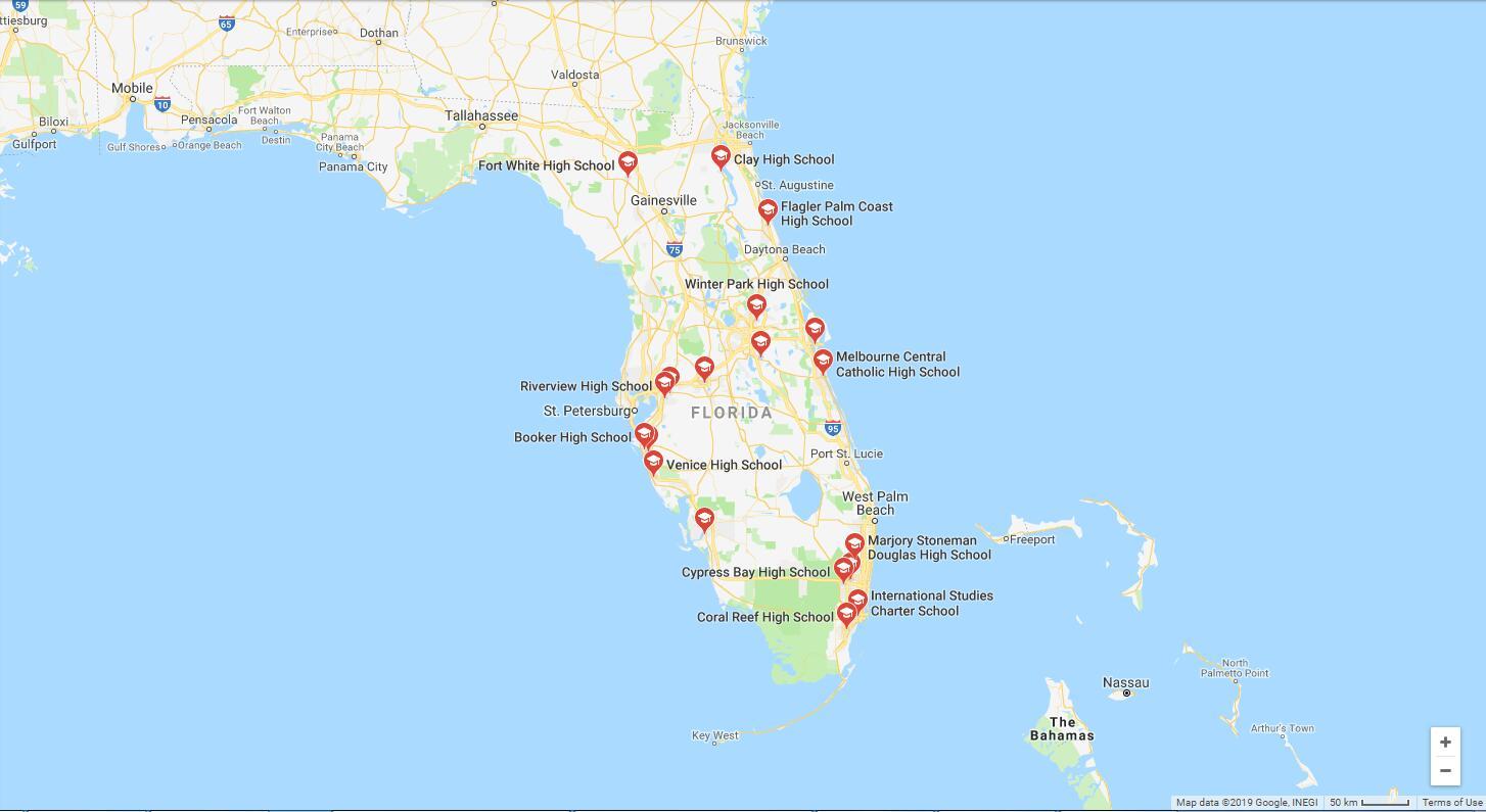 Top High Schools in Florida