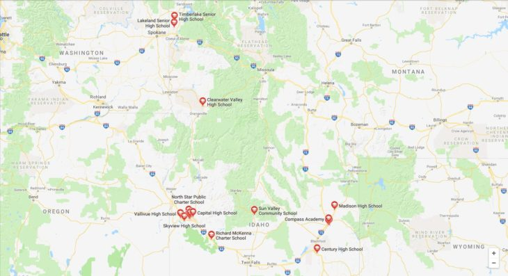 Top High Schools in Idaho