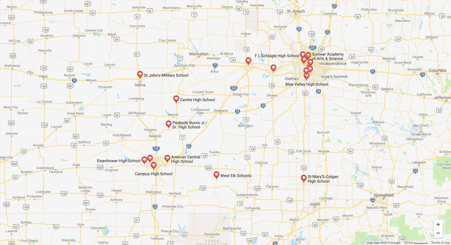 Top High Schools in Kansas