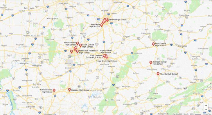 Top High Schools in Kentucky