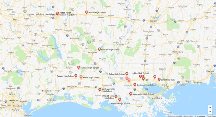 Top High Schools in Louisiana