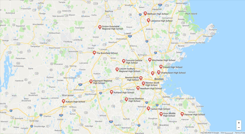 Top High Schools in Massachusetts