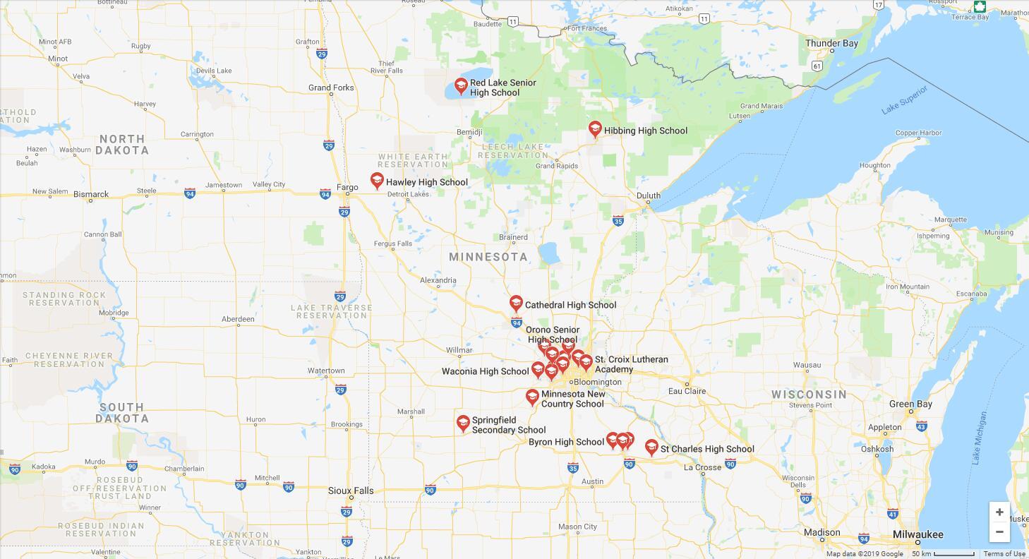 Top High Schools in Minnesota