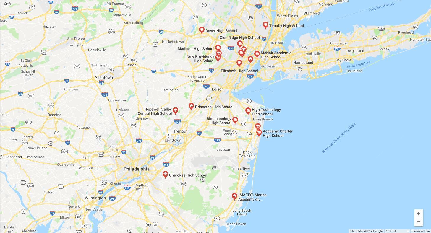 Top High Schools in New Jersey