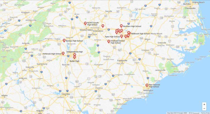 Top High Schools in North Carolina