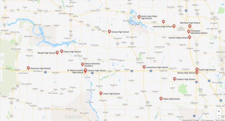 Top High Schools in North Dakota