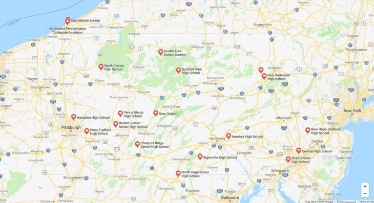 Top High Schools in Pennsylvania