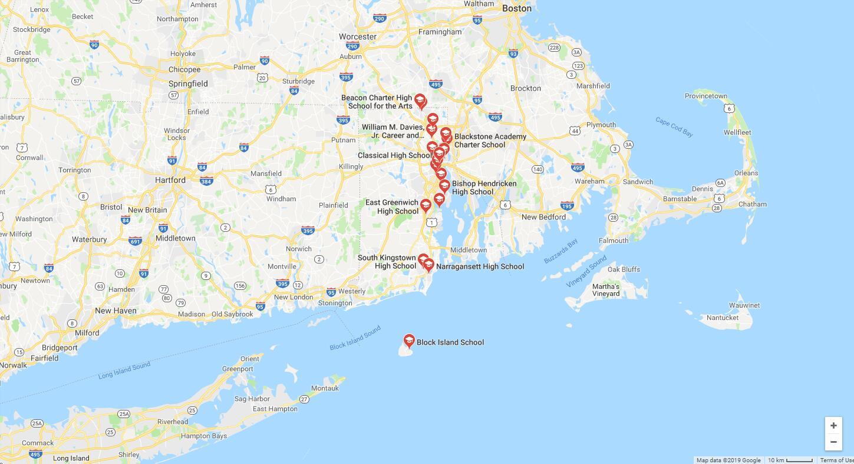 Top High Schools in Rhode Island