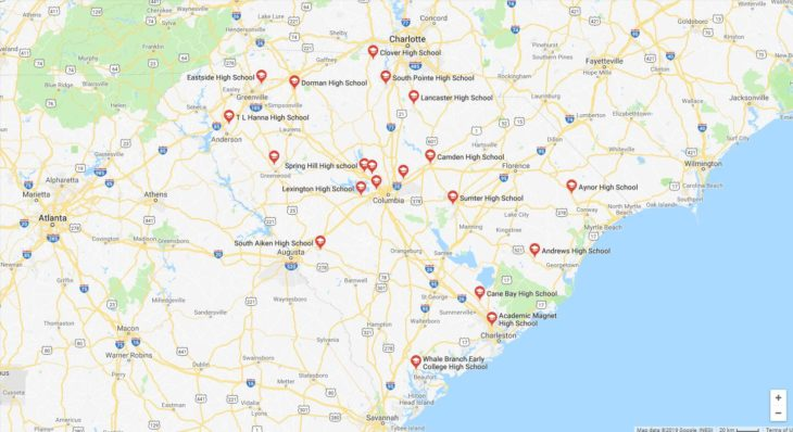 Top High Schools in South Carolina 2019
