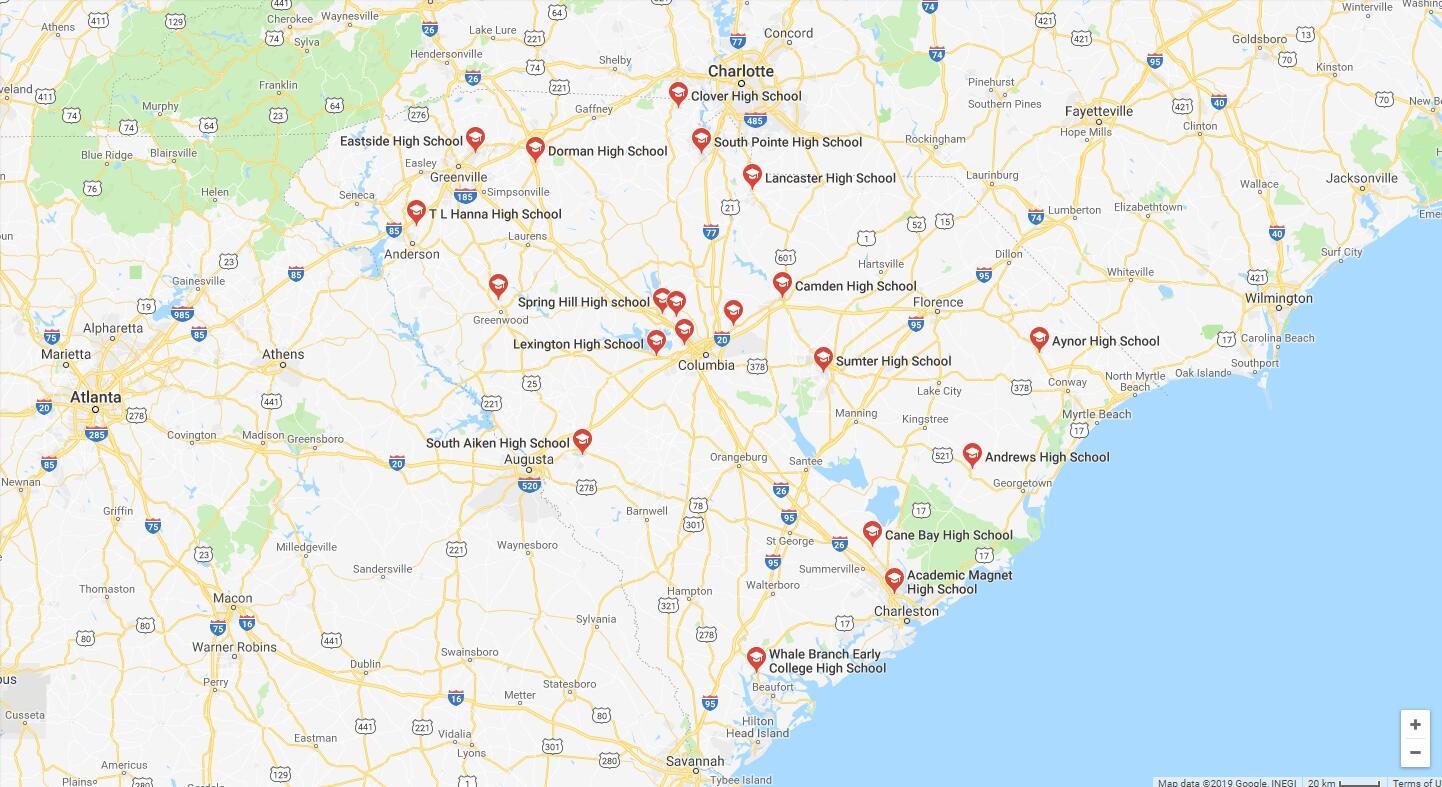 Top High Schools in South Carolina