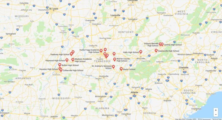 Top High Schools in Tennessee 2019