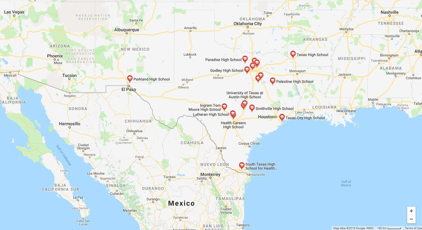 Top High Schools in Texas