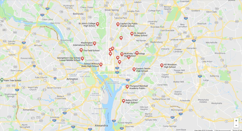Top High Schools in Washington DC