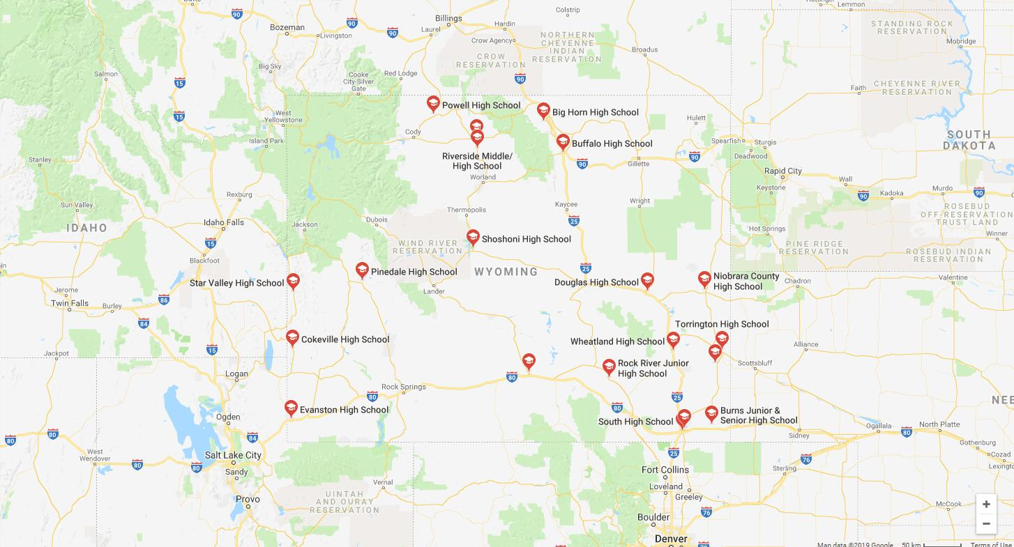 Top High Schools in Wyoming