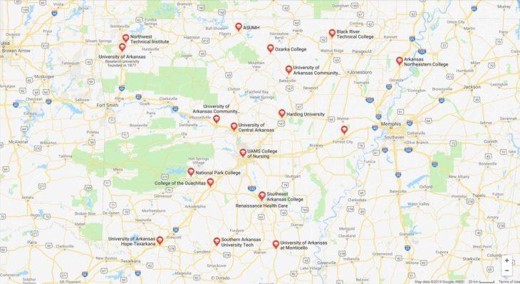 Top Nursing Schools in Arkansas