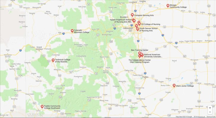Top Nursing Schools in Colorado