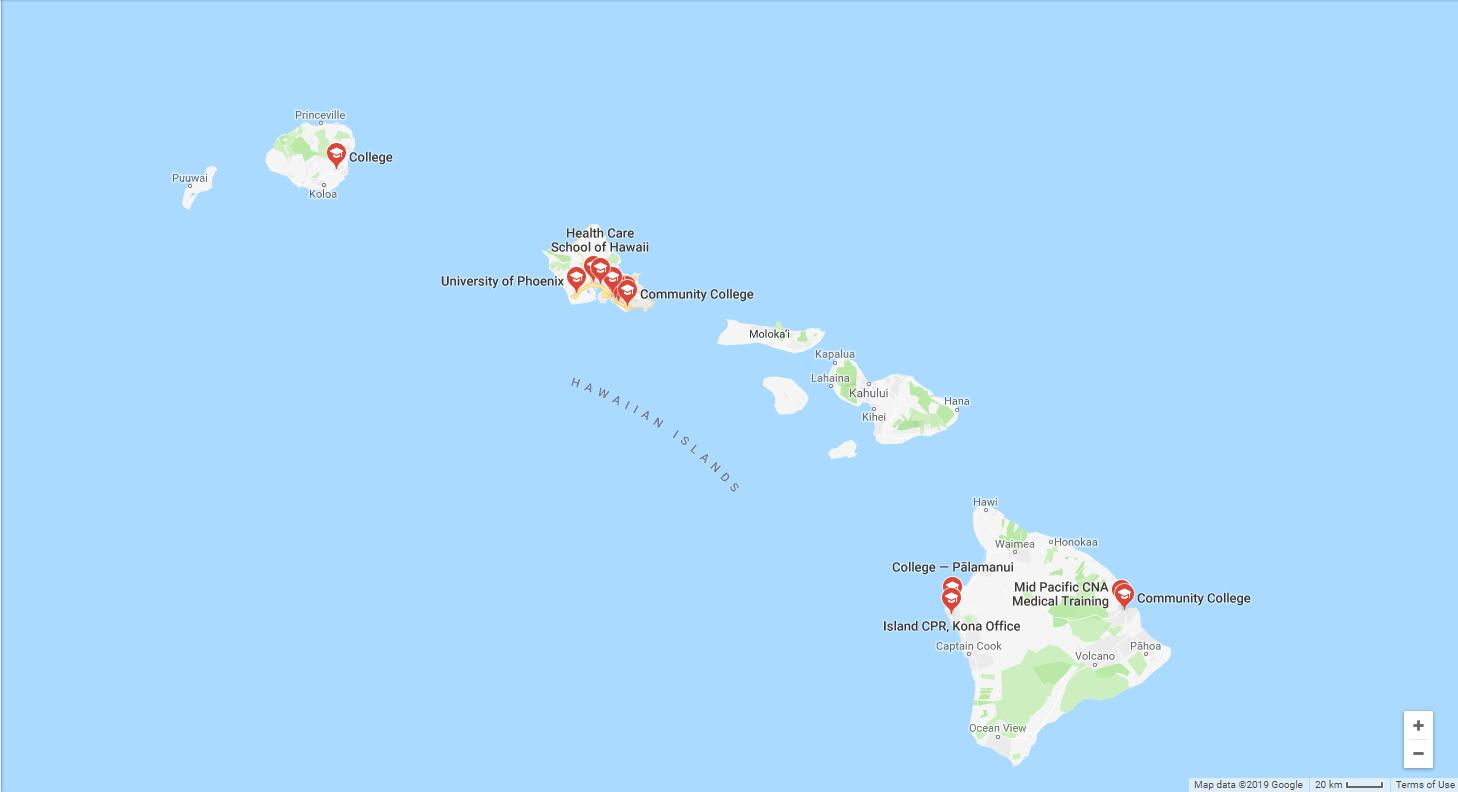 Top Nursing Schools in Hawaii