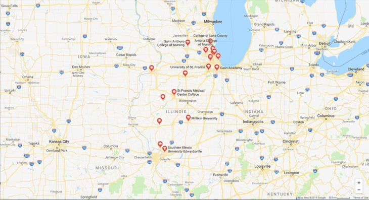 Top Nursing Schools in Illinois