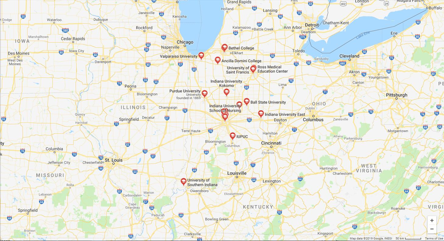 Top Nursing Schools in Indiana