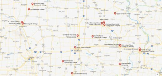 Top Nursing Schools in Iowa