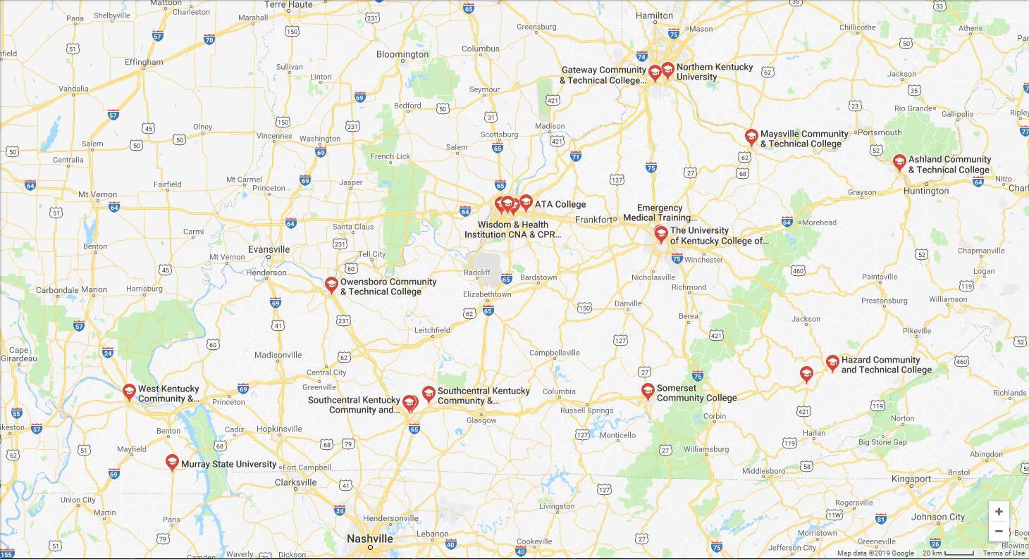 Top Nursing Schools in Kentucky