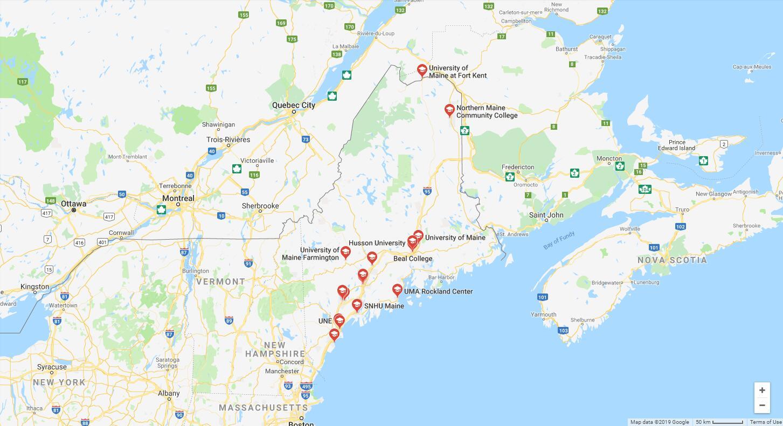 Top Nursing Schools in Maine